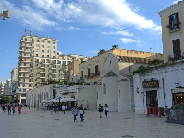 deptak w Bari, zwiedzanie miasta