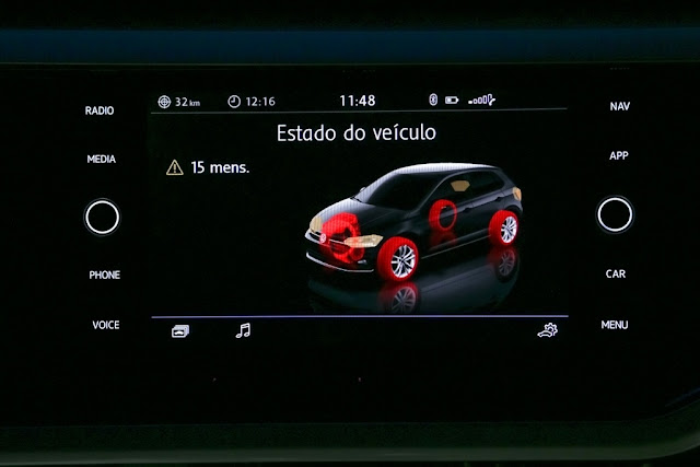 Novo VW Polo 2018 - Painel Digital confirmado nas versões topo