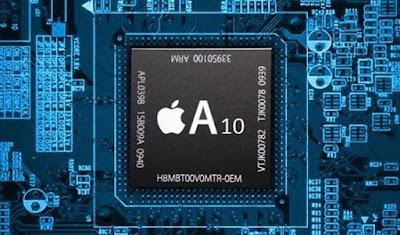 Prosesor Apple A10 adalah produk terbarunya yang rilis pada 2016