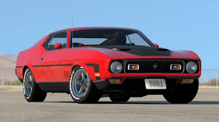 1971 Ford Mustang Mach 1 Drag Pack Malignant Variant
