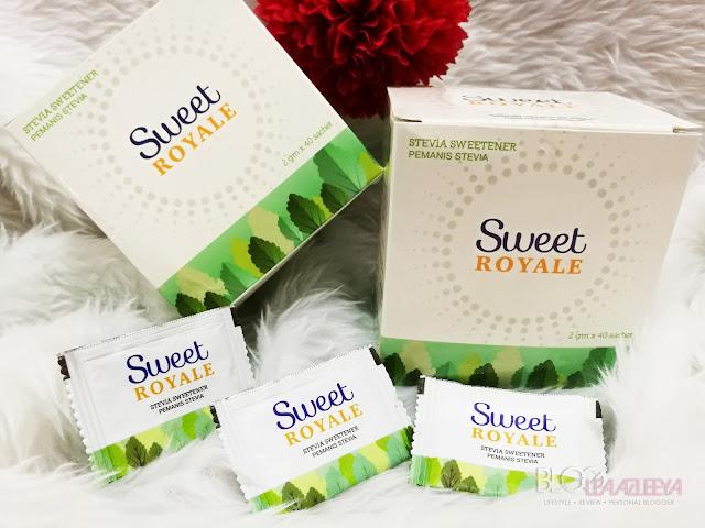 SweetRoyale Stevia halal, Stevia Sweetener, SweetRoyale, pharmaniaga, Stevia halal, stevia original, pemanis stevia,