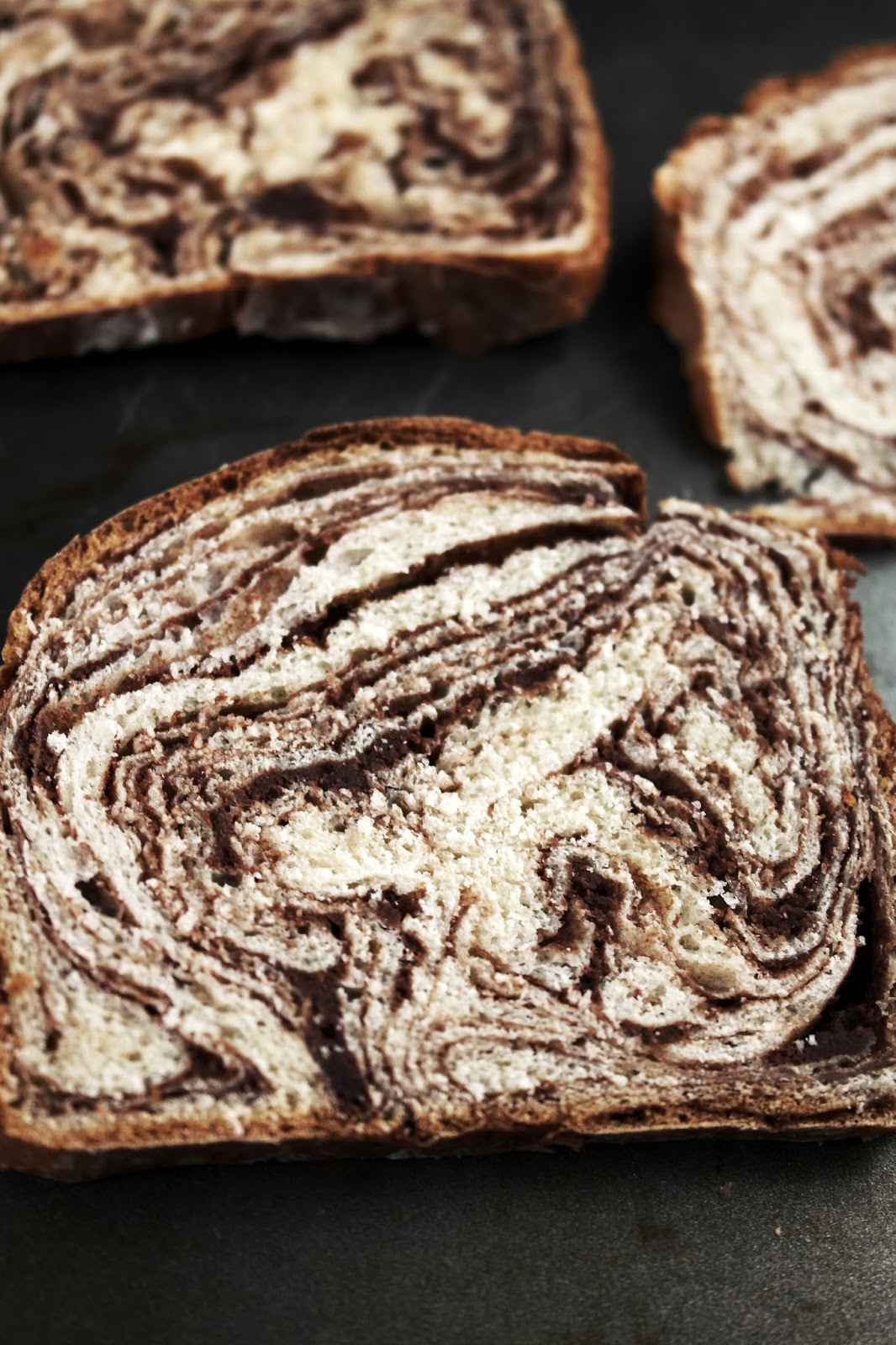 Chocolate Swirl Bread Twigg Studios