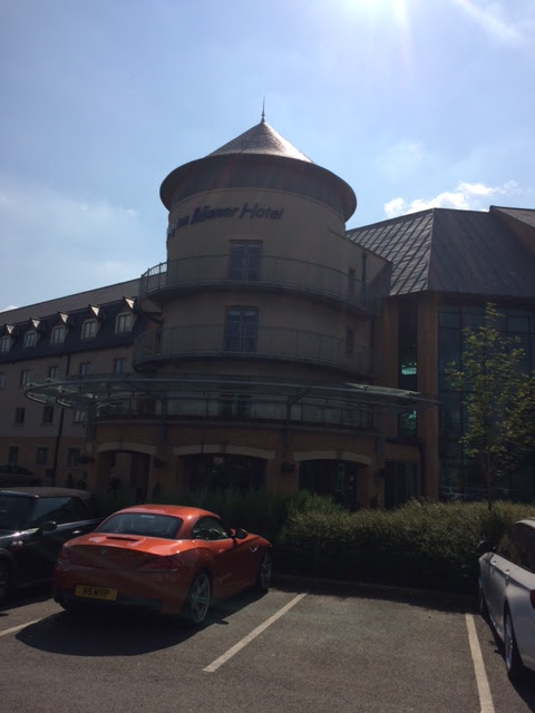 Exterior of Drayton Manor Hotel