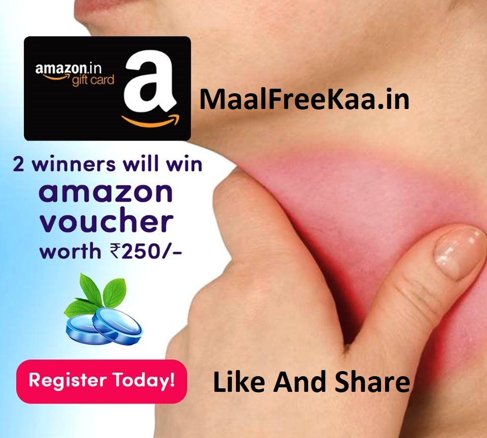 The Lucky Draw Win Amazon Gift Card Rs 250 Freebie Giveaway