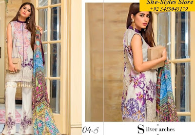 Buy Qalamkar Lawn Collection 2017