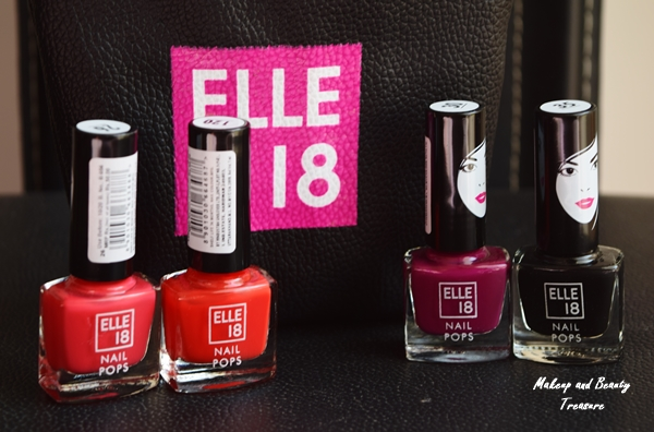Makeup and Beauty Treasure: New Elle 18 Nail Pops Review