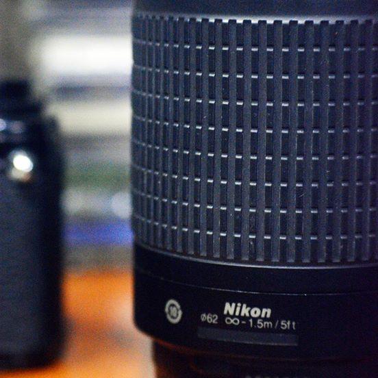 Nikkor 70-300mm f/4-5.6 G Telephoto Lens for Nikon