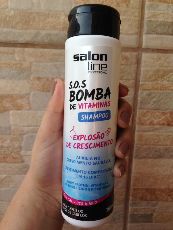Louca por cosm ticos resenha shampoo bomba salon line for Salon line bomba