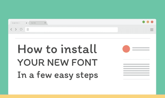 Install Tekniagreek Font - withcrise