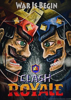 Desenhos lendários de Clash Royale feitos por fãs - 30