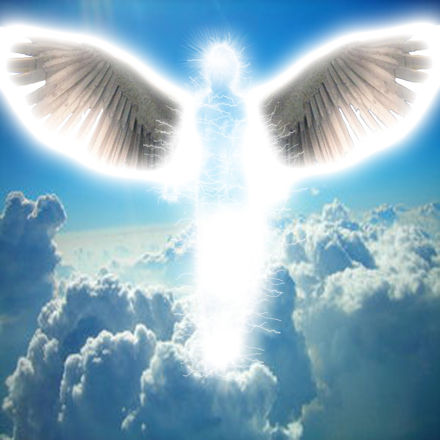 God and angel pictures