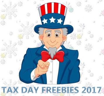 tax day freebies 2017