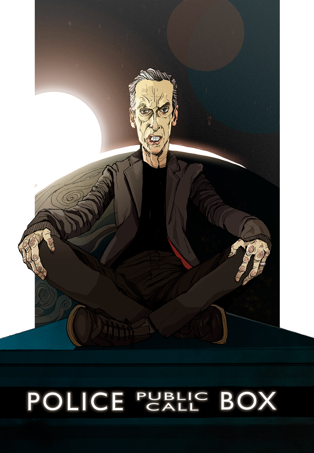 Doctor Who Twelfth Doctor Artwork