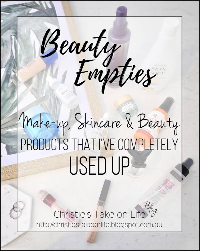 Makeup, Skincare and Beauty Products That I've Completely Used Up