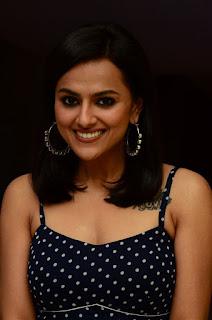 Actress Shraddha Srinath At Jersey Movie Appreciation Meet Stills