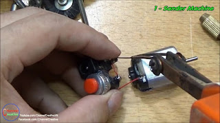 Tutorial Cara Membuat Mesin Gerinda Mini dari Dinamo Mainan
