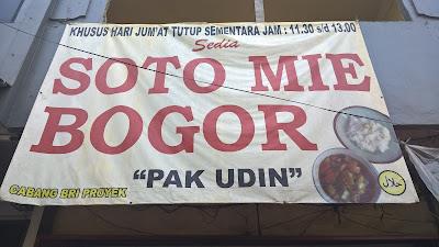 Soto Mie Bogor Pak Udin Kota Bekasi