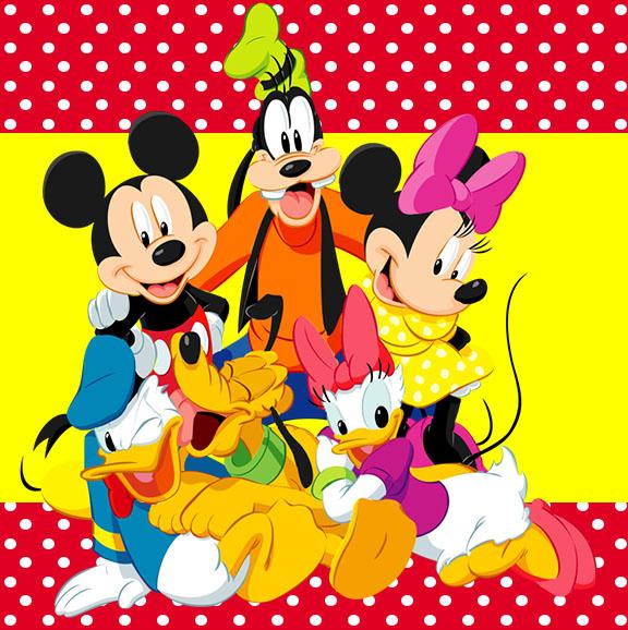 Kit Festa Pronta Turma Do Mickey Gratis Para Baixar Cantinho Do Blog
