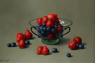 bodegones-realistas-fresas