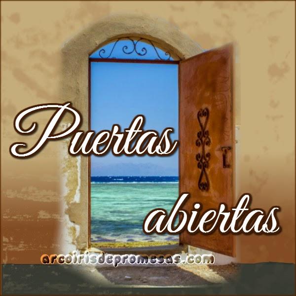 puertas abiertas mensajes cristianos con imágenes