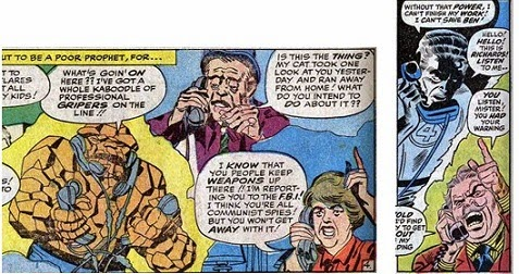 Fantastic Four 22-MoleMan-LeeKirby