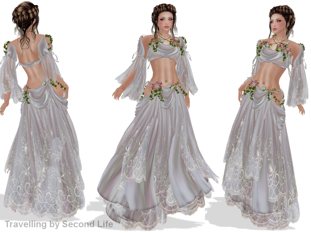 Wedding Dresses For 40: Travelling By Second Life: Wedding On The Beach