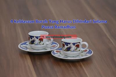 4 Kebiasaan Buruk yang Harus Dihindari Selama Puasa Ramadhan