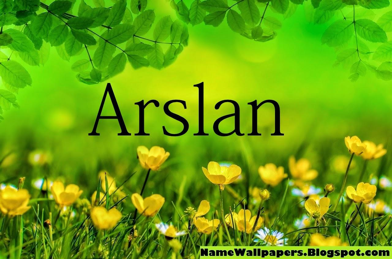 Arslan Name Wallpapers Arslan Name Wallpaper Urdu Name