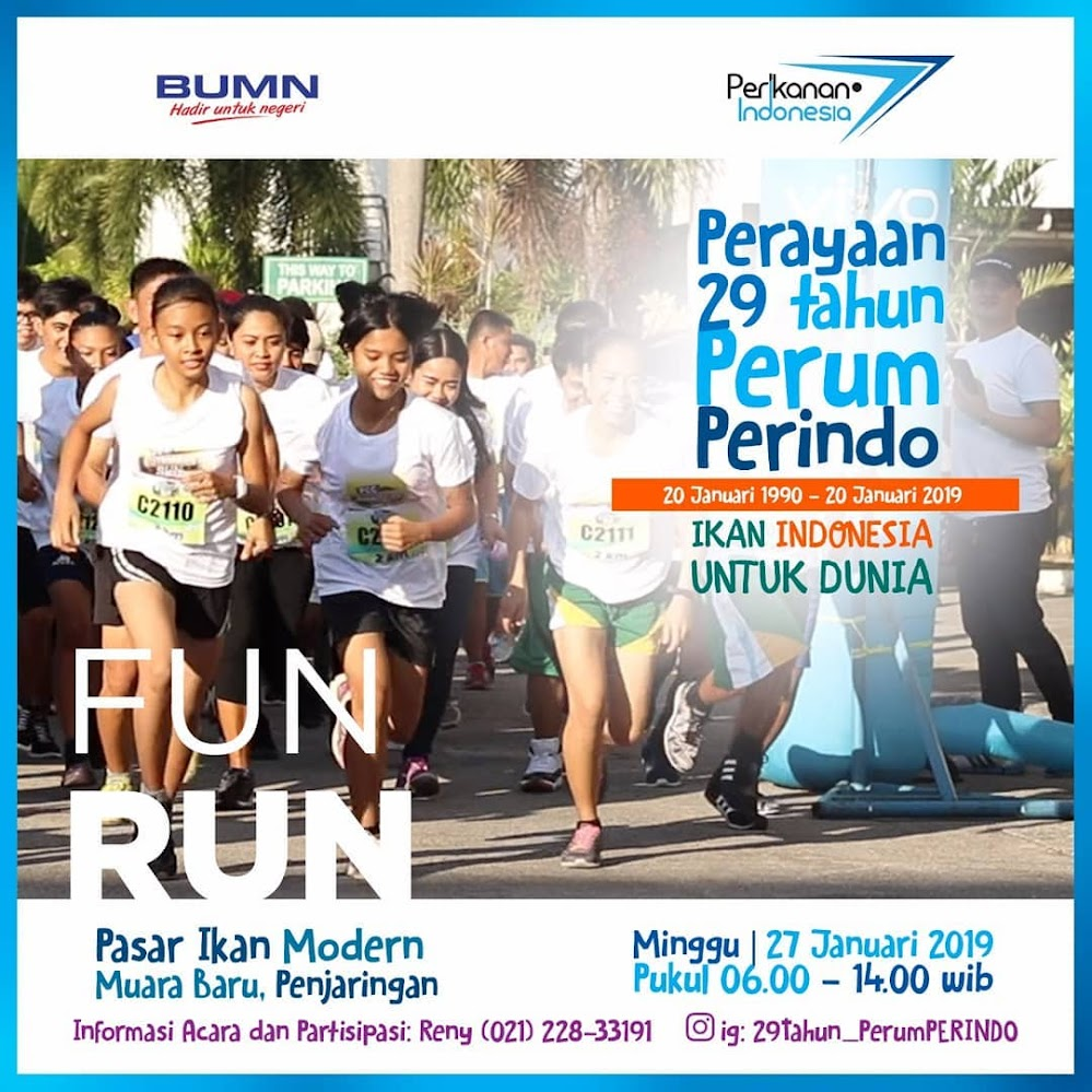Perum Perindo Fun Run • 2019