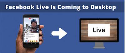 Kini Facebook Live Dapat Digunakan Melalui Desktop!
