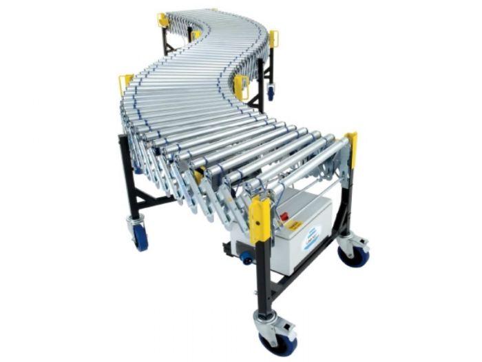 Powered Flexible Conveyors | Conveyor Systems - Roller Conveyors