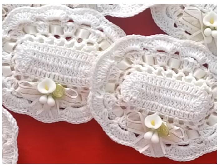 Delicadezas en crochet Gabriela: Jaboneras en crochet paso a paso