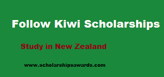 Follow the Kiwi Scholarships in New Zealand