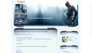 Assassins Blogger Templates