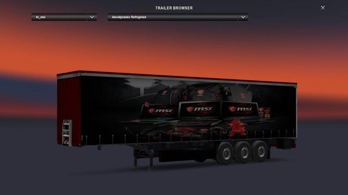 Standalone MSI Trailer