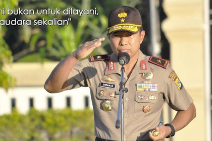 """Mantan Kapolda NTB """"Irjen Umar"""" Menanggapi Sikap Arogan istri Jenderal yang Main Tampar"""