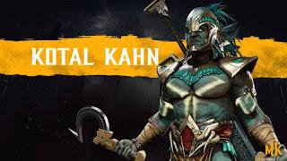 "Presentado Kotal Kahn para ""Mortal Kombat 11""."
