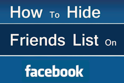 How to Hide Our Friends In Facebook