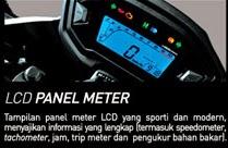 LCD panel meter sporty dan modern