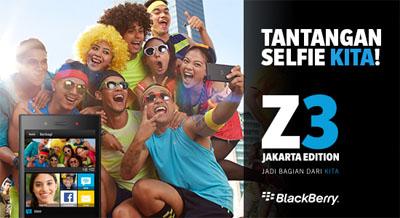 Ini Tantangan BlackBerry untuk Para Penggemar Selfie