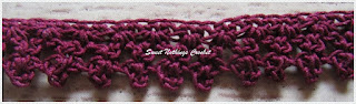 free crochet choker necklace
