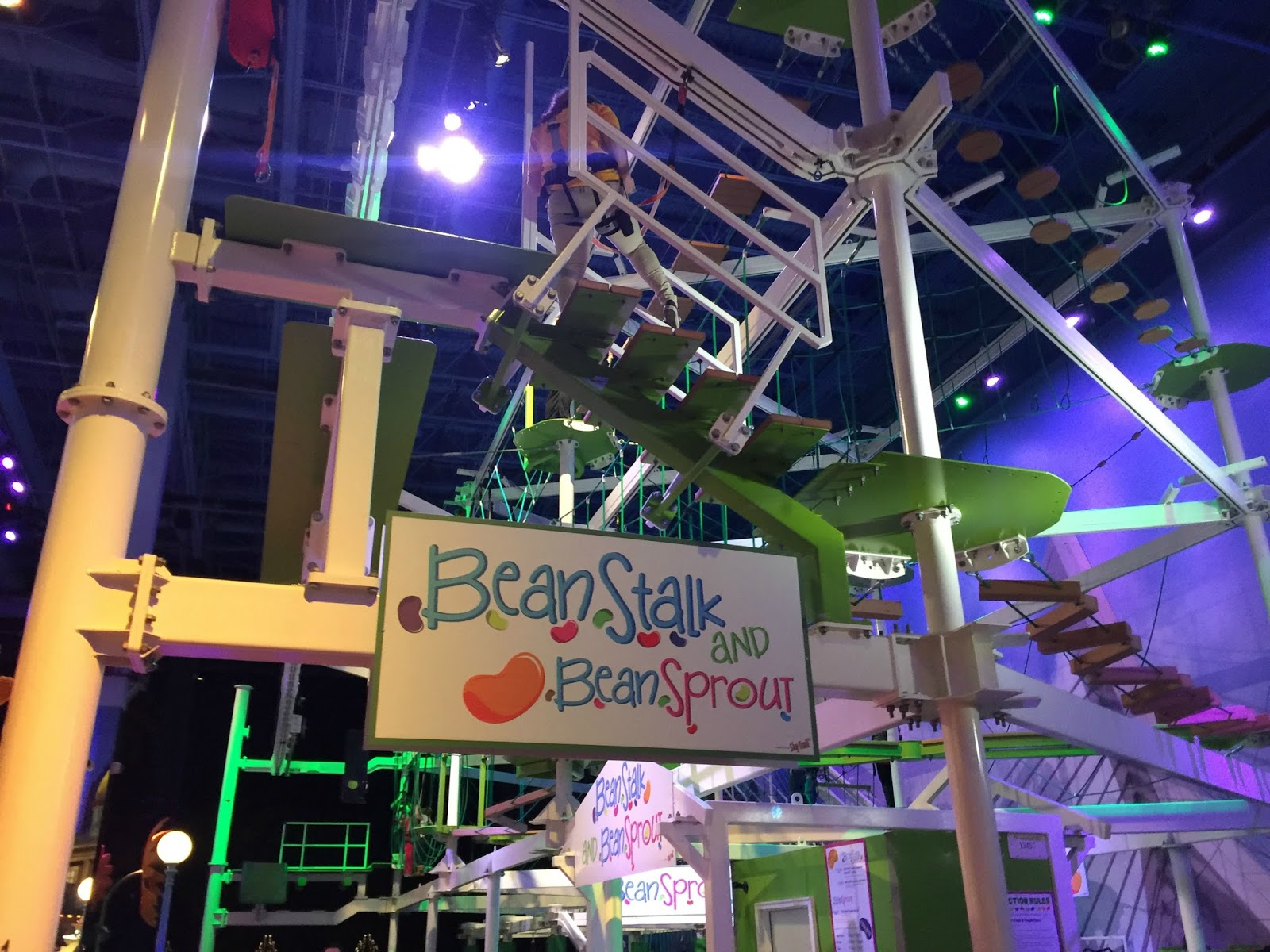 Lovely BeanTown At Jordanu0027s Furniture In Reading: Featuring The BeanStalk  Adventure Rope Course! + Coupon