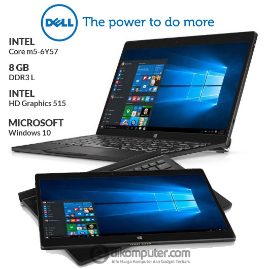 Harga Ultrabook Dell XPS 12  Core m5-6Y57