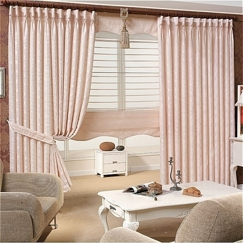 Elegant Modern Living Room Curtains Stylish