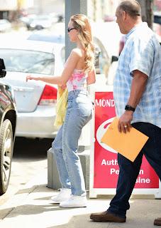 Lily Rose Depp At Running Errands in LA