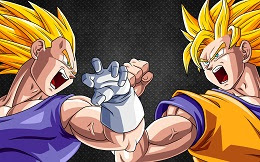 Goku Vs Vegeta Rpg on frivforkidsplay