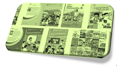 Geveducation: Buku Guru dan Siswa K13 SD Kelas 6 Revisi 2018