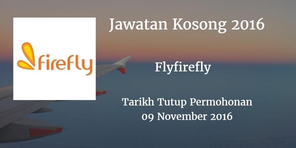 Jawatan Kosong Flyfirefly 09 November 2016