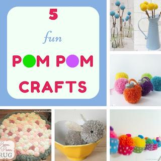 http://keepingitrreal.blogspot.com.es/2016/09/5-fun-pom-pom-crafts.html