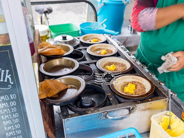 Hidden Delicious Food in Sungai Pinang - Apom Balik & Nasi Lemak @ Penang